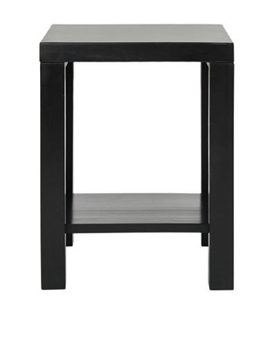 Safavieh Lahoma End Table, Black