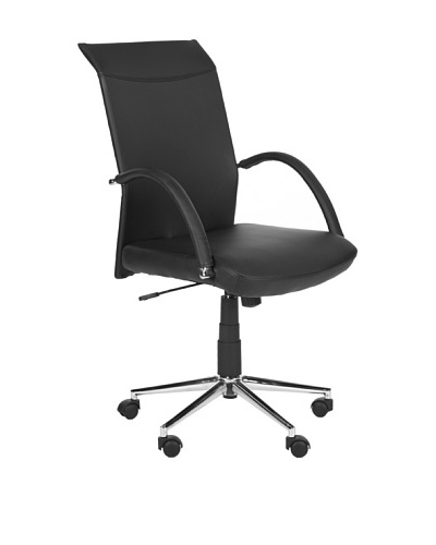 Safavieh Dejana Desk Chair, Black