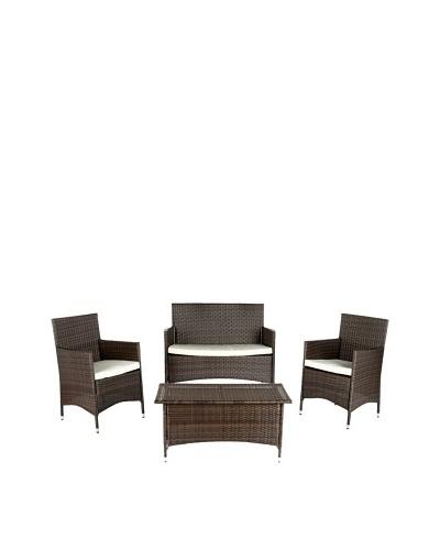 Safavieh 4-Piece Mojavi Wicker Furniture Set
