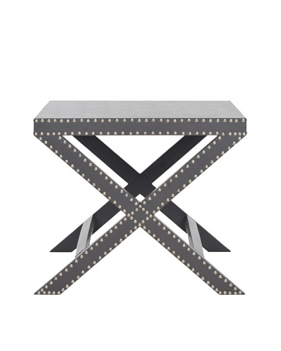 Safavieh Jeanine X End Table, Grey