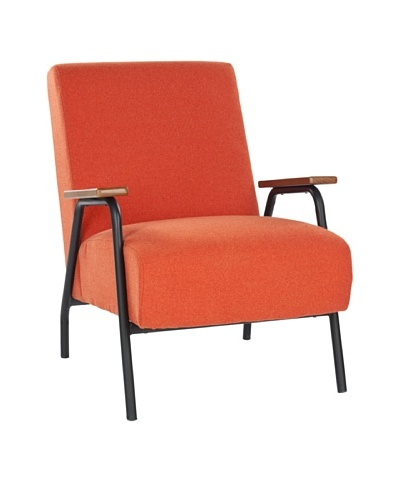 Safavieh Reuben Arm Chair, Orange