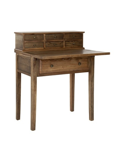 Safavieh Abigail Fold-Down Desk, Oak