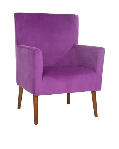 Safavieh Everett Arm Chair, Purple