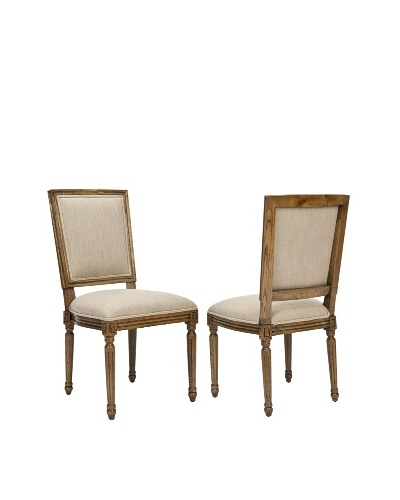 Set of 2 Ashton Side Chairs, True Taupe