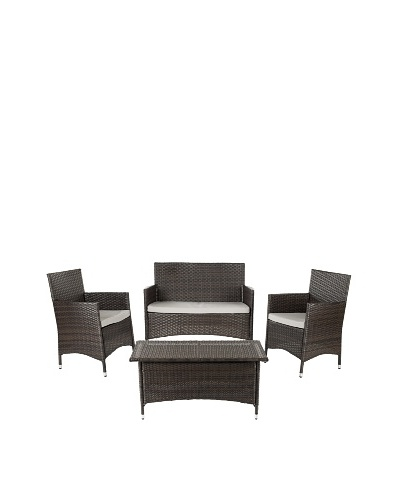 Safavieh Mojavi 4-Piece Wicker Set