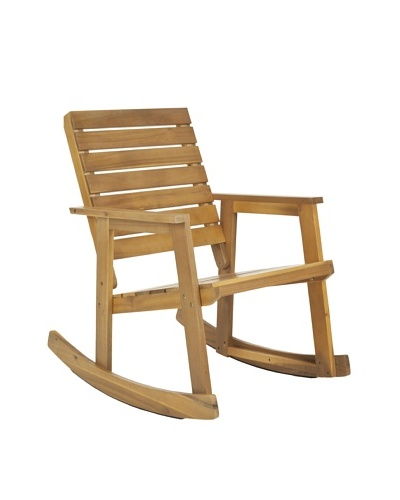 Safavieh Alexei Rocking Chair, Teak