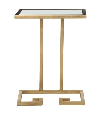Safavieh Murphy Accent Table, Gold/White