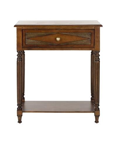 Safavieh Susan Side Table, Dark Brown