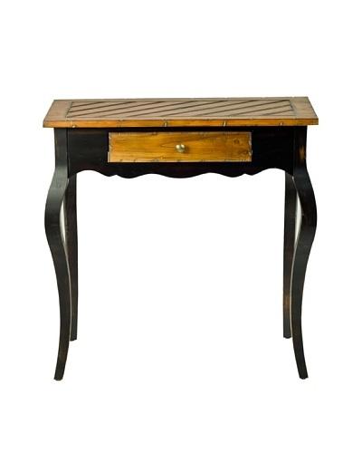 Safavieh Cooper Side Table, Light Brown/Black