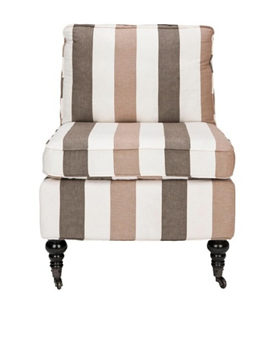 Safavieh Randy Slipper Chair, Multi Stripe