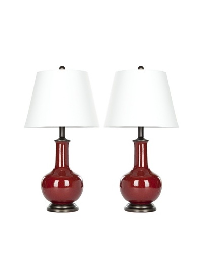 Safavieh Set of 2 Carolanne Table Lamps