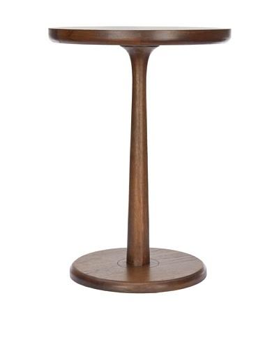 Safavieh Luke Round End Table, Brown