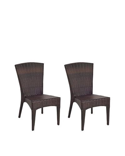 Safavieh New Castle Wicker Side Chair