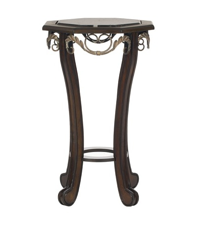 Safavieh Mildred Side Table, Dark Brown