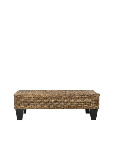Safavieh Leary Bench, Natural