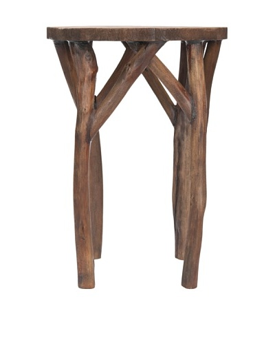 Safavieh Harper Round End Table, Brown