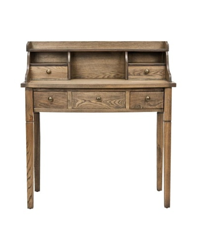 Safavieh Landon Writing Desk, Oak