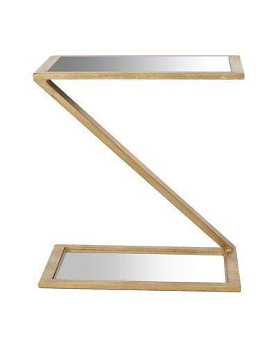 Safavieh Andrea Accent Table, Gold/Mirror