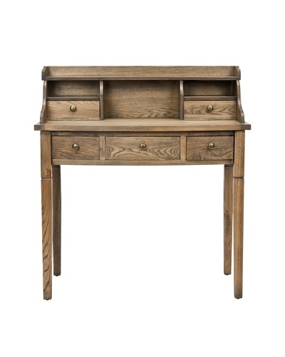 Safavieh Landon Writing Desk, Medium Oak