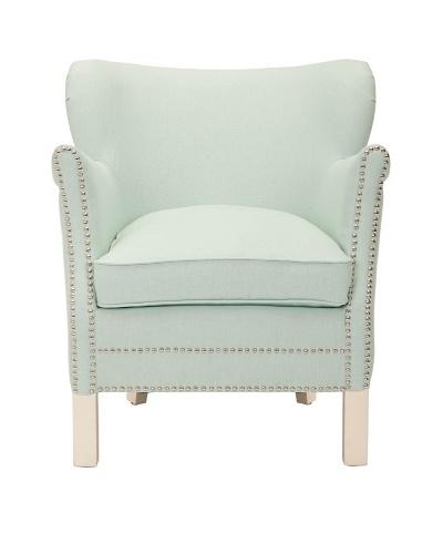 Safavieh Jenny Arm Chair, Egg Blue
