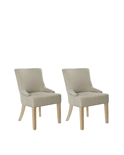 Safavieh Set of 2 Lotus KD Side Chairs