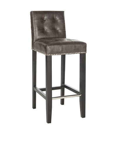 Safavieh Thompson Barstool, Antique Brown