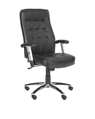 Safavieh Olga Desk Chair, Black