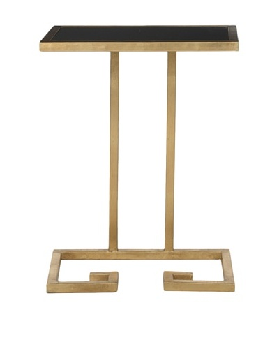 Safavieh Murphy Accent Table, Gold/Black