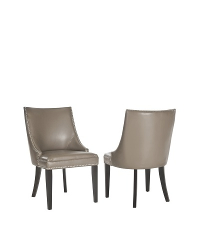 Safavieh Set of 2 Afton Side Chairs, Clay