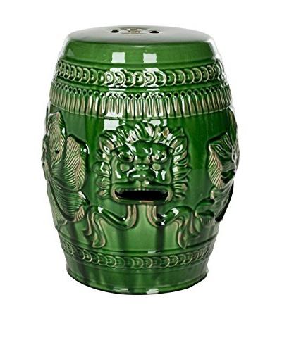 Safavieh Green Chinese Dragon Stool