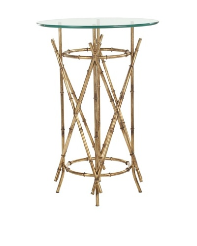 Safavieh Maria Accent Table, Gold