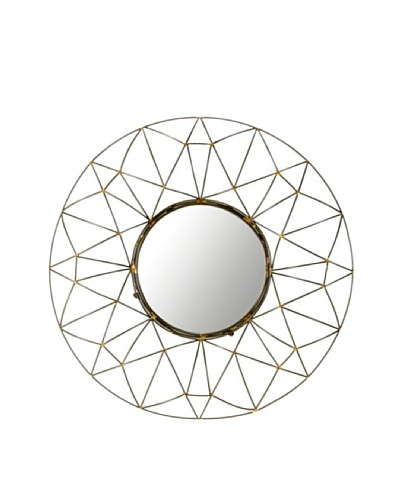 Safavieh Round Wall Mirror, NaturalAs You See