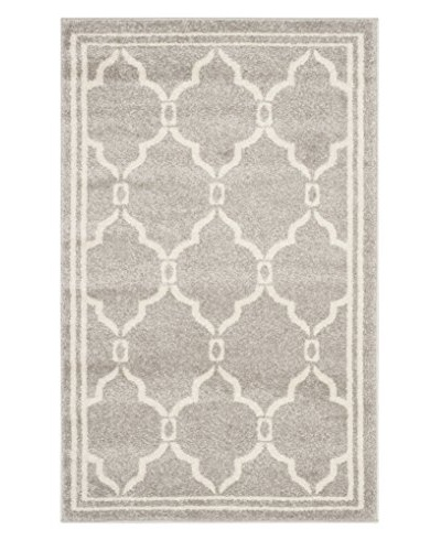 "Safavieh Amherst Rug, Light Grey/Ivory, 2' 6"" x 4'"