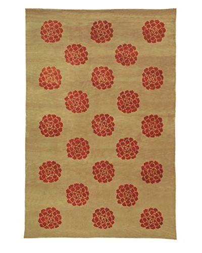 Safavieh Martha Stewart Medallions Rug, Garnet, 3' 9 x 5' 9