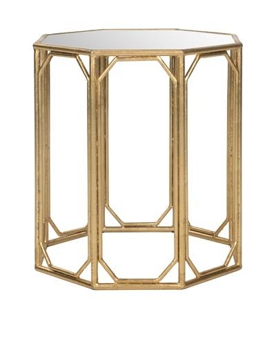 Safavieh Muriel Accent Table, Gold/Mirror