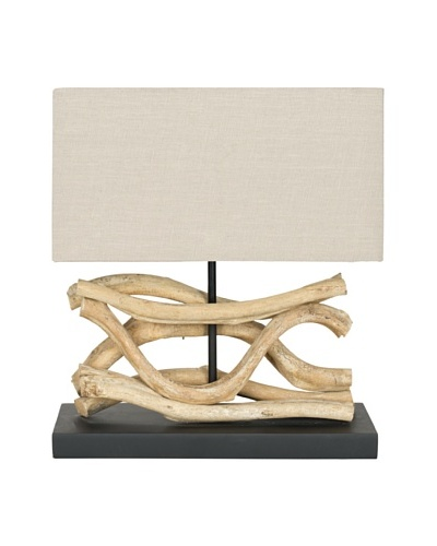 Safavieh Laguna Vine Lamp, Bleach