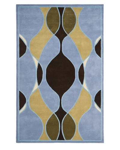 Safavieh Soho Collection Wool Rug [Blue/Multi]