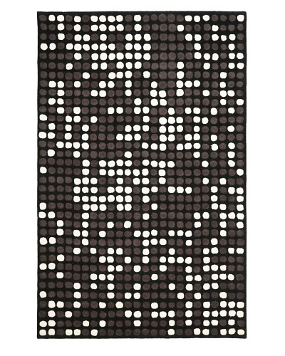 Safavieh Soho Collection Wool Rug [Black/White]