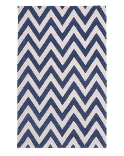 Safavieh Cambridge Rug, Navy/Ivory, 11' x 15'