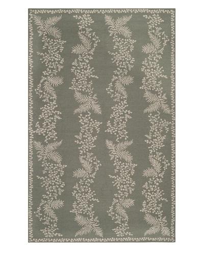 Safavieh Martha Stewart Fern Row Rug, Tarragon/Green, 5' 6 x 8' 6