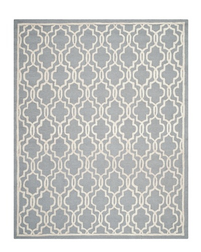 Safavieh Cambridge Rug, Silver/Ivory, 11' x 15'