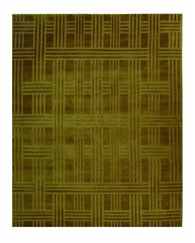 Safavieh Thomas O'Brien Deco Plaid Rug, Moss, 9' x 12'