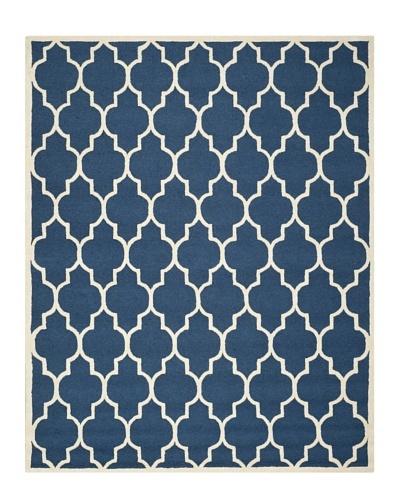 Safavieh Cambridge Rug, Navy/Ivory, 11' x 15'