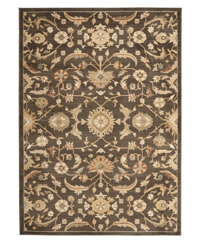 Safavieh Heirloom Rug Collection [Brown/Gold]