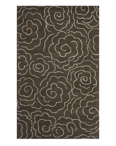 Safavieh Soho Rug, Chocolate/Ivory, 5' x 8'