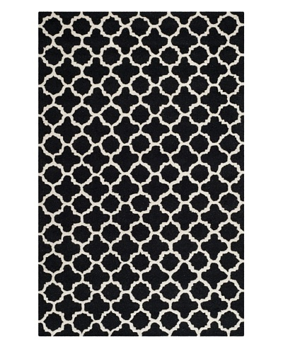 Safavieh Cambridge Rug [Black/Ivory]