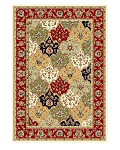 Safavieh Lyndhurst Rug, Multi/Red, 5' 3 x 7' 6