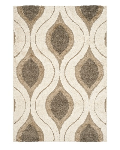 Safavieh Florida Rug, Cream/Smoke, 11' x 15'
