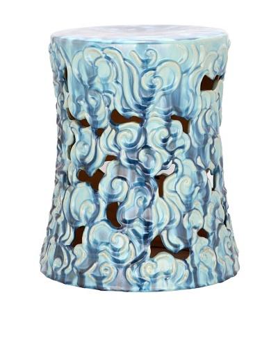 Safavieh Glazed Ceramic Garden Stool, Blue