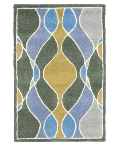 Safavieh Soho Collection Wool Rug [Grey/Multi]